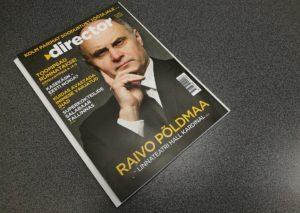 Raimo Seero artikkel ajakirjas Director, aprill 2017