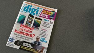 Ajakiri Digi esikaas, märts 2017